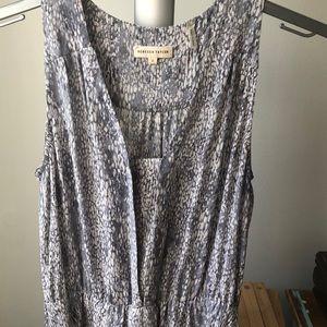 Rebecca Taylor silk a-line dress